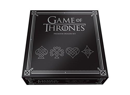 Premium Playing Cards Dealer Set - Game of Thrones