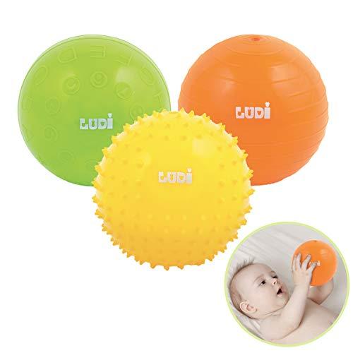 Textured Ball Set 8 St/ück Baby 6 Monate Plus