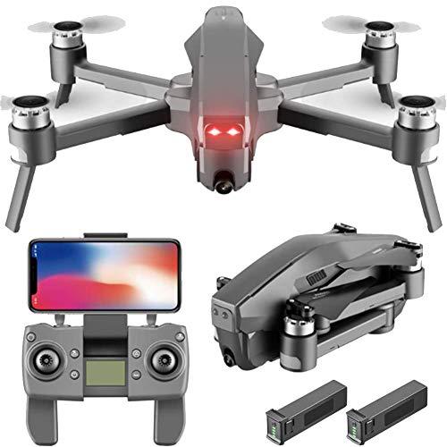 Lugang 5G WiFi GPS Drone Für Erwachsene, Luft Quadcopter Mit 4K-HD-Kameras Und FPV & Follow-Funktion, Nur 30 Minuten Akkulaufzeit, Fernbedienung Entfernung 1800M,4K