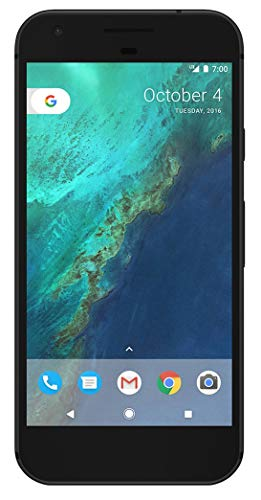 Google Pixel 1st Gen 32GB Factory Unlocked GSM/CDMA Smartphone for AT&T + T-Mobile + Verizon Wireless + Sprint (Quite Black) (Renewed)