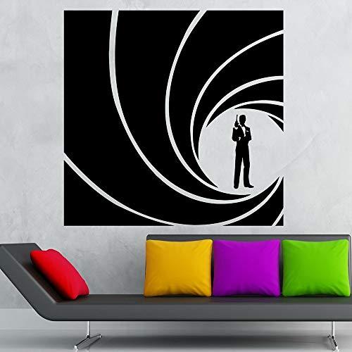 Tianpengyuanshuai Agent muursticker vinyl sticker wooncultuur woonkamer accessoires meubelbehang zelfklevende folie