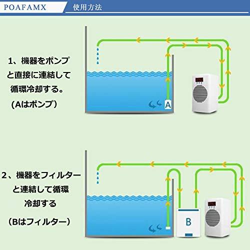 Poafamx『水槽ヒーター水槽クーラー』