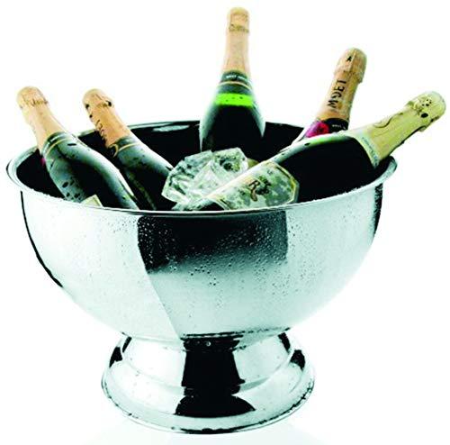 Was Gastronomiebedarf Champagnerkühler 40cm ohne Einsatz 18/10 WAS