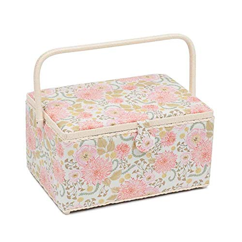 Lowest Prices! Hobby Gift Classic Extra Large Sewing Box Fable Floral