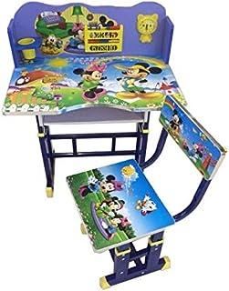 RAN-KID-DS-1005 Mickey Mouse Theme Kids' Study Table, Blue - 70x70x50cm