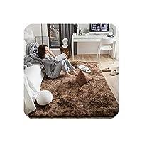 Motley ビロードカーペット リビングルーム用 ソフトふわラグ ホームデコ シャギーカーペット 寝室 ソファ コーヒーテーブル フロアマット クロークルームラグ 120x160cm SB-122
