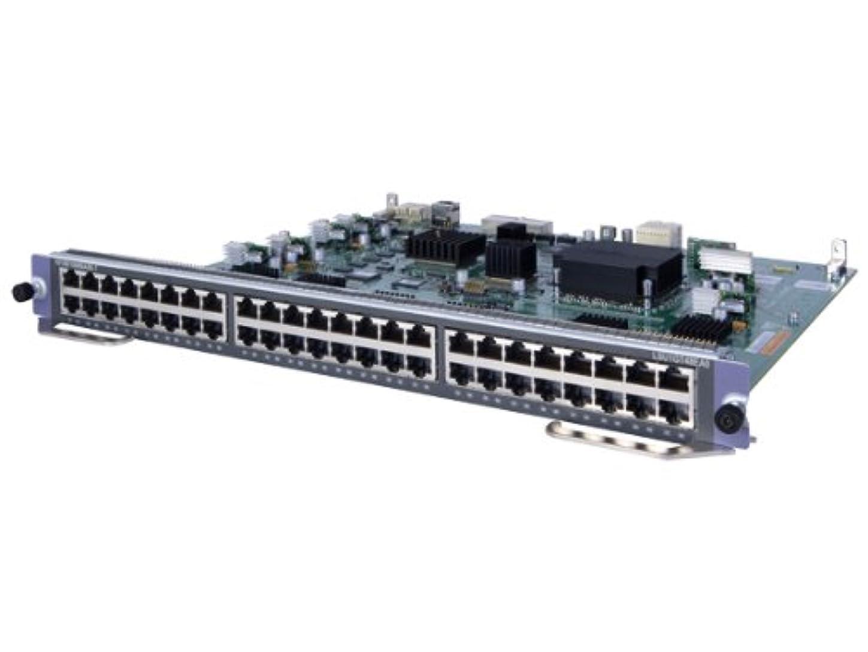 スカウト排除お尻日本ヒューレットパッカード A10500 48-port Gig-T EA Module JC623A