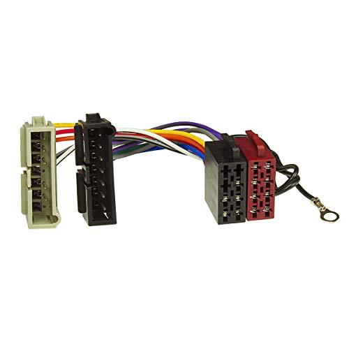 tomzz Audio 7007-000 Radio Adapter Kabel passend für Chrysler bis 2001, Dodge bis 2001, Jeep bis 2001 auf 16pol ISO Norm