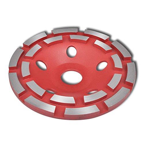 VidaXL 140621 – Meuleuse d'angle Accessoires (schne idedisk, rouge, acier)