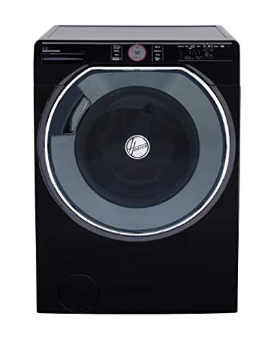 Hoover Axi AWMPD69LH7B Freestanding Washing Machine, WiFi Connected, 9Kg Load, 1600rpm Spin, Black