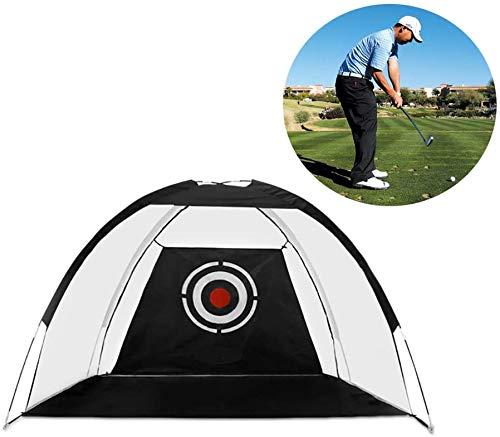 4YANG Faltbares Golfnetz, Übungsnetz für Golf-Trainingshilfen für das Hinterhof-Swing-Schlagen mit Zielbündeln mit Tragetasche und Golfbällen Indoor-Outdoor-Sportarten