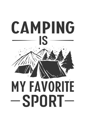 Cuaderno: Senderismo, Tiendas de campaña, Naturaleza, Aventura, Camping,: 120 páginas rayadas: cuaderno, cuaderno de bocetos, diario, lista de tareas ... para planificar, organizar y tomar notas.