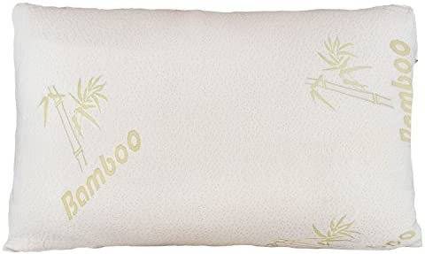 Relax Home Life Firm Bamboo Pillow with Shredded Memory Foam and Stay Cool Removable Cover King product image