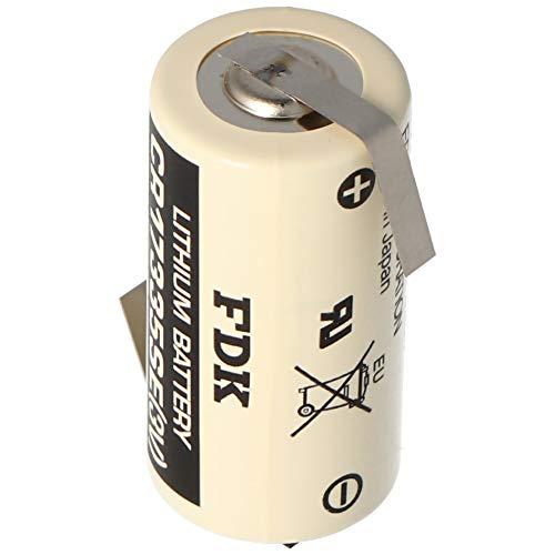 Sanyo Lithium Batterie CR17335 SE Size 2/3A, mit Lötfahne Z-Form