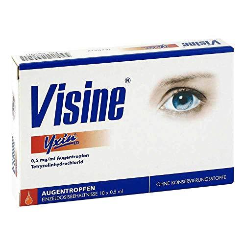 VISINE Yxin ED Einzeldosispipetten 10X0.5 ml