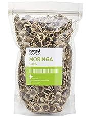 NES Natural 1000 Semillas de Moringa Oleifera  Nutritivo, Antioxidante y Anti Inflamatorio, Semillas Comibles   Rico en Vitaminas, Minerales, Proteínas, Potasio, Calcio y Más