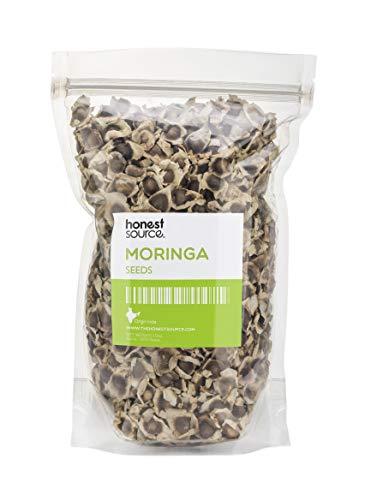 NES Natural Pack de 1000 Graines Séchées de Moringa Oleifera   Graines Alimentaires Comestibles, Antioxydantes et Anti-inflammatoires   Riches en Vitamines, Minéraux, Protéines, Potassium