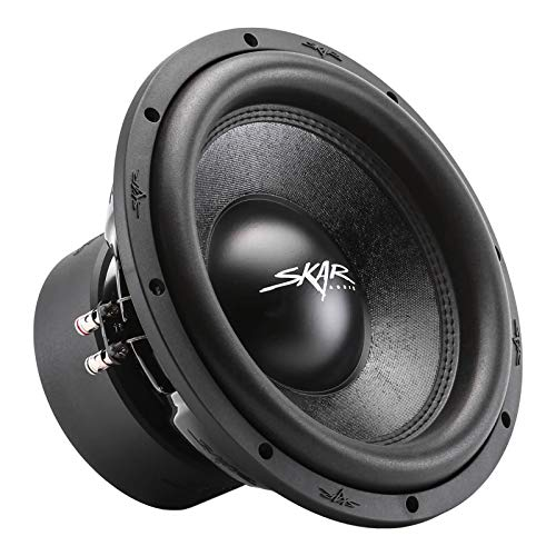 Skar Audio SVR-12 D4 12 1600 Watt Max Power Dual 4 Ohm Car Subwoofer