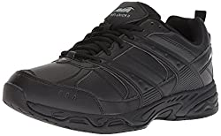top 10 avia black shoes Avia Avi-Union II Men's Catering Shoes, Black / Castle Lock, 10 Medium US