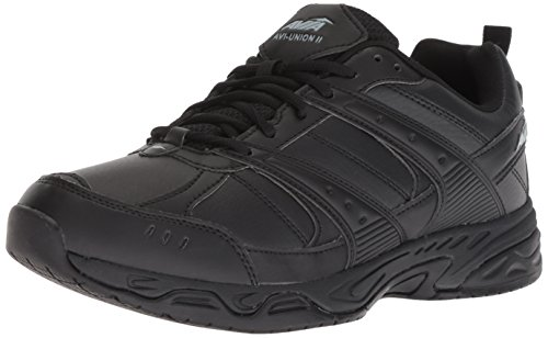 Avia Men's Avi-Union II Food Service Shoe, Black/Castle Rock, 7.5 Wide US