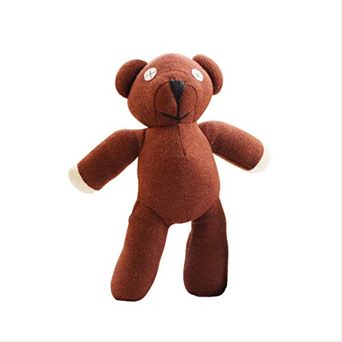 Ylout Mr Bean Teddybär Tier Plüschtier 25Cm ,Weiche Cartoon Brown Figur Puppe Kind Kinder Geschenk Spielzeug Geburtstagsgeschenk