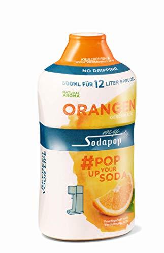MySodapop Getränkesirup, PET, Orange, Classic 500 ml
