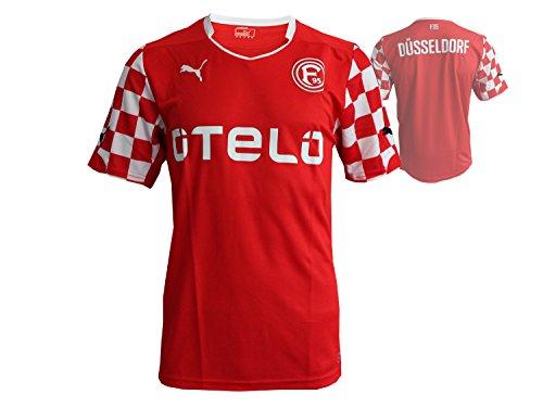 PUMA Herren Trikot F95 Home Shirt Promo Replica Fit without Sponsor Logo Red-White, XL