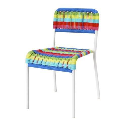 Ikea FARGGLAD Kinderstuhl, mehrfarbig