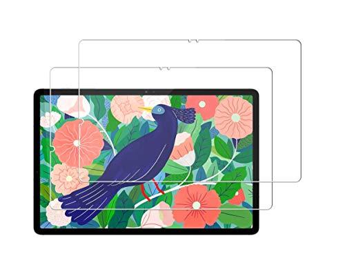 Techkun - Protector de pantalla para Samsung Galaxy Tab S7 de 11 pulgadas (2 unidades)