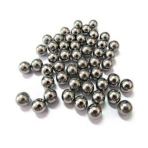 6mm Kohlenstoffstahlschleuderball, traf die Auswurfkugel, Fahrradstahlkugel, Schleuderball, Lagerzubehör, 1 kg