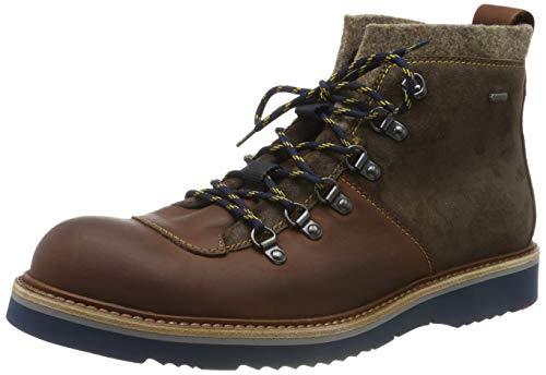 LLOYD Herrenschuh VAN, moderner Gore-Tex Stiefel aus Leder mit Gummisohle, Braun (Marrone/T.D.Moro/Brown 2), 43 EU