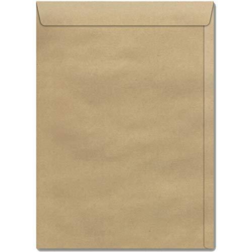 Envelope Saco, 11cm x 17cm, Cor Kraft, Pacote de 250, Scrity SKN017