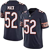 MY0629 NFL Men's Jersey Football Wear Chicago Bears 52# Mack Youth Comfortable and Breathable Jerseys Sweatshirts
