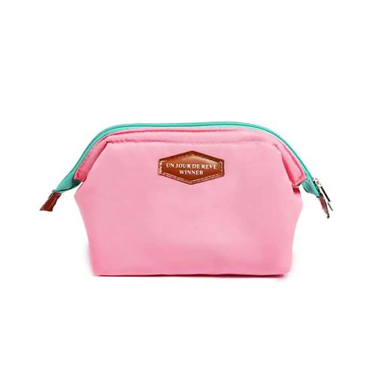 知人プレビュー平衡旅行化粧ポーチウォッシュバッグ化粧ブラシ多機能防水バッグ鮮明女性女の子ピンクを運ぶために化粧品ポーチ