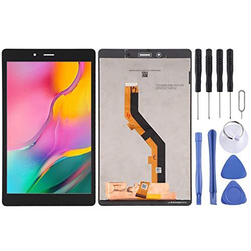 BEIJING LCD-Screen Pantalla LCD de Pantalla LCD y Montaje Completo de digitalizador para Galaxy Tab A 8.0 (2019) SM-T295 (versión LTE) (Color : Negro)