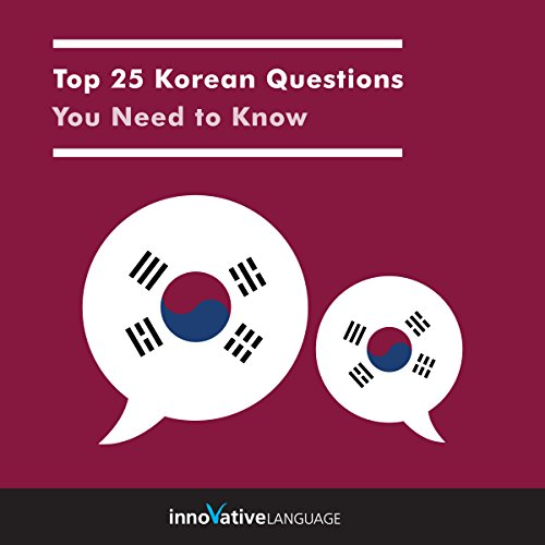 Top 25 Korean Questions You Need to Know  By  cover art