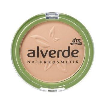 Alverde Make-up-Grundierung, Puder, 20 Velvet Sand