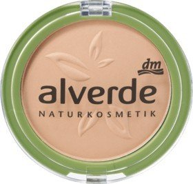 Alverde Make-up-Grundierung, Puder, 20 Velvet Sand