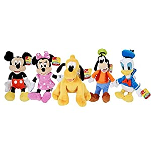 Disney Gang 9 Bean Plush Mickey Minnie Mouse Donald Pluto Goofy - by Disney 6