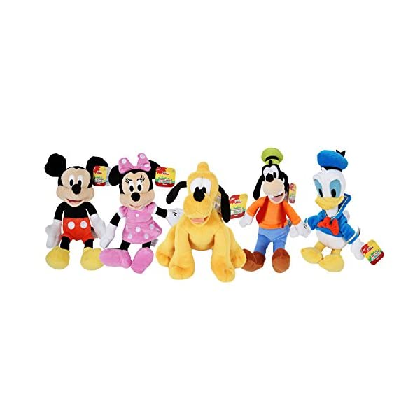 Disney Gang 9 Bean Plush Mickey Minnie Mouse Donald Pluto Goofy - by Disney 1