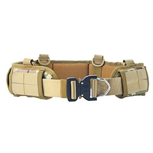 lefeindgdi - Cinturón de cintura multiusos para deportes al aire libre con base táctica y ajustable
