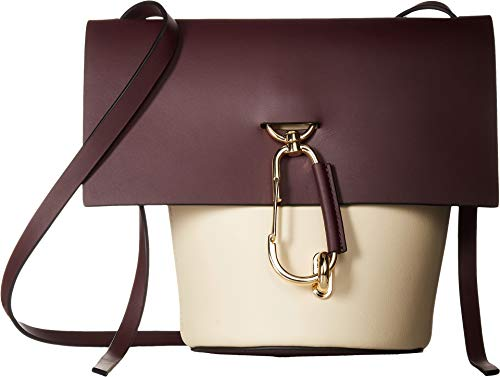 Reboot your style for the season with the stunning geometry of the ZAC Zac Posen™ Belay Crossbody. Crossbody handbag made from genuine calfskin leather. Top spacious opening with fold over flap and lobster claw clasp closure. Adjustable crossbody sho...
