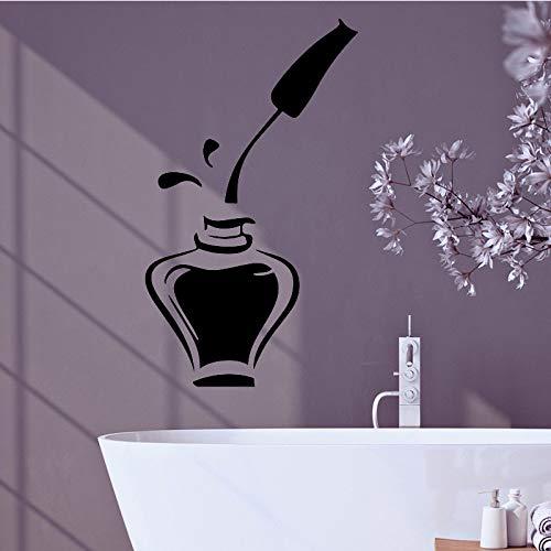 Modekosmetik Wandaufkleber Selbstklebende wasserdichte Wandkunst Aufkleber Wohnkultur Kunst Wandaufkleber Tapete Rot M 30cm X 30cm