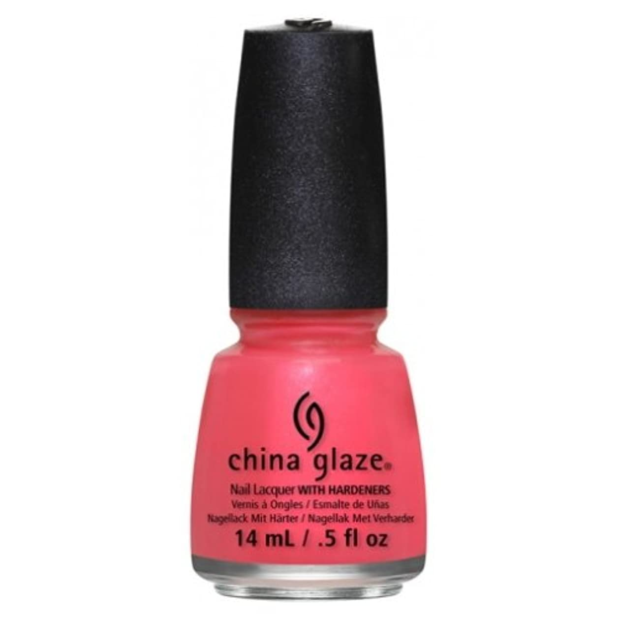 好むとして騒CHINA GLAZE Nail Lacquer - Art City Flourish - Strike A Rose (並行輸入品)