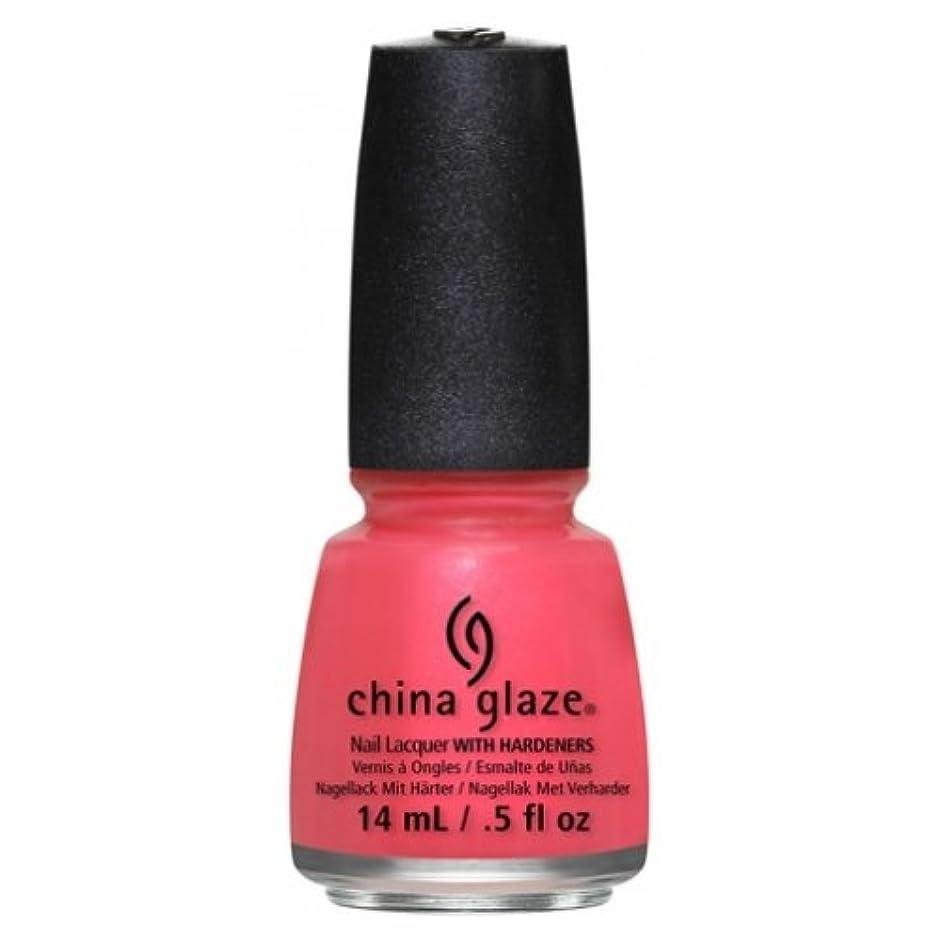 印をつけるティッシュブラストCHINA GLAZE Nail Lacquer - Art City Flourish - Strike A Rose (並行輸入品)