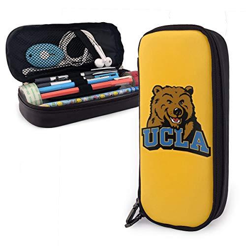 U-C-L-A Zippered Pen/Pencil Case Art Supplies Storing Kit | Portable Travel Cosmetics Makeup Pouch