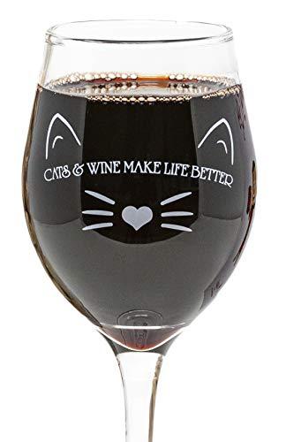 Divertidas tazas de vino para amantes de las mascotas, 325 m