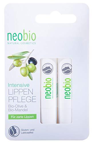 Neobio Bálsamo Labial Intensivo Duplo (Oliva Bio & Alme