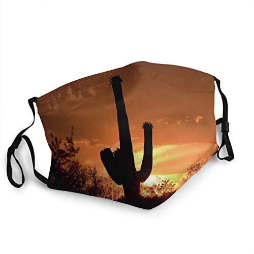 Desert Monarch Unisex Reusable Windproof Dustproof Washable Mouth Cover