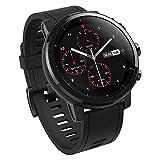 AMAZFIT Stratos 2 Smartwatch, Huami Smart Watch con GPS, Versione Internazionale, Funziona con iOS e Android (Nero) (Ricondizionato)